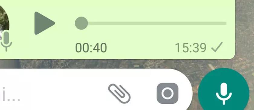 Agora é possível ouvir mensagem de voz antes de enviar